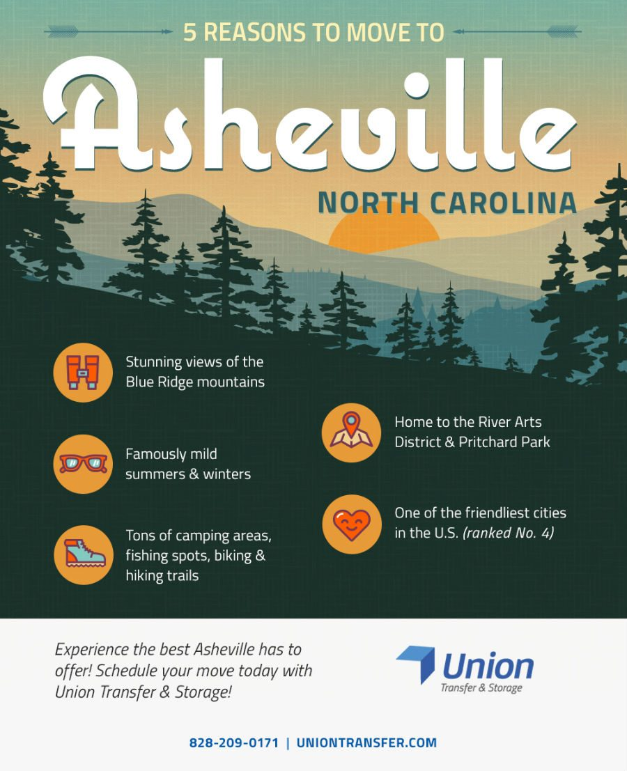 5 reasons to move to asheville nc